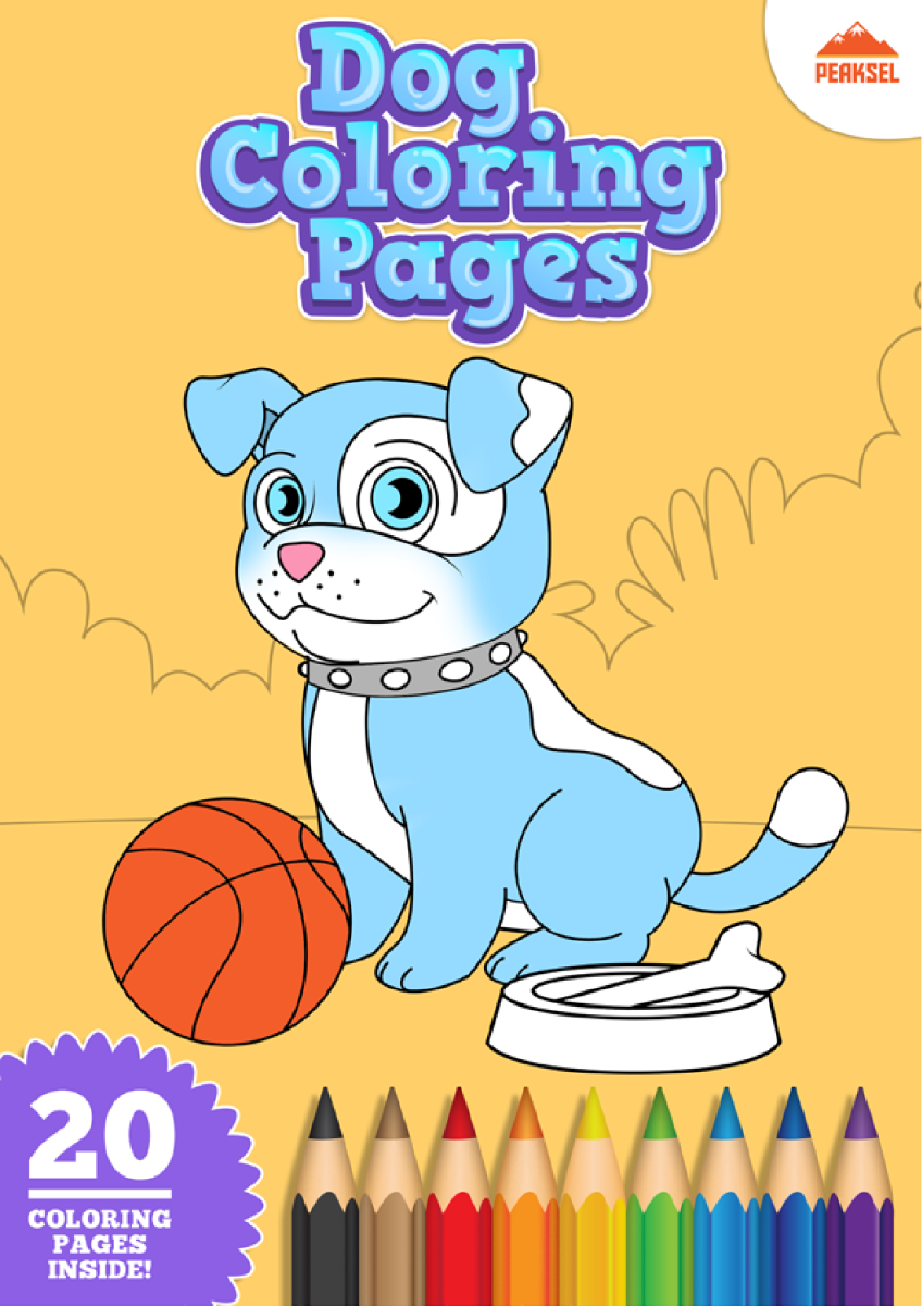 Dog Coloring Pages - Coloring Book for Kids |authorSTREAM