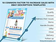 10 Common Factor To Increase Sales With EBay Description Templates