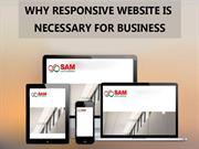 Why responsive web design service is necessary for business