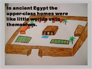 Ancient Egyptian Royal Estate