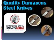 QualityDamascus Steel Knives