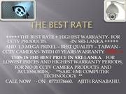 THE BEST RATE
