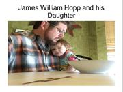 James William Hopp and His Daughter