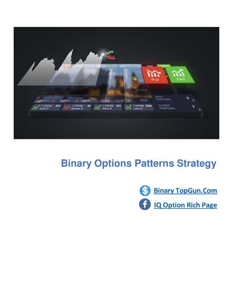 Binary options patterns