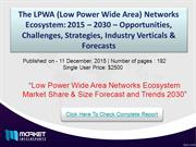 Low Power Wide Area Networks Ecosystem 2015 – 2030