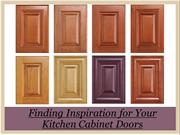 Finding Inspiration for Your Kitchen Cabinet Doors