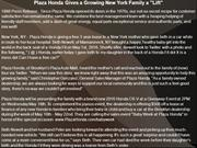 Plaza Honda Gives a Growing New York Family a