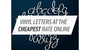 Vinyl Letters at the Cheapest Rate Online