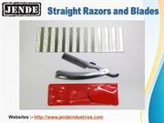 Buy High Quality Straight Razors and Blades Online