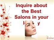 Inquire about the Best Salons in your locality
