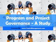 Program and Project Governance -A Study