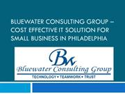 Cost Effective IT solution for small business in Philadelphia