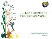Bloque II . Los sistemas de produccion animal