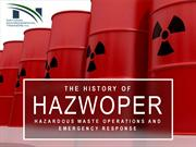 The History of HAZWOPER