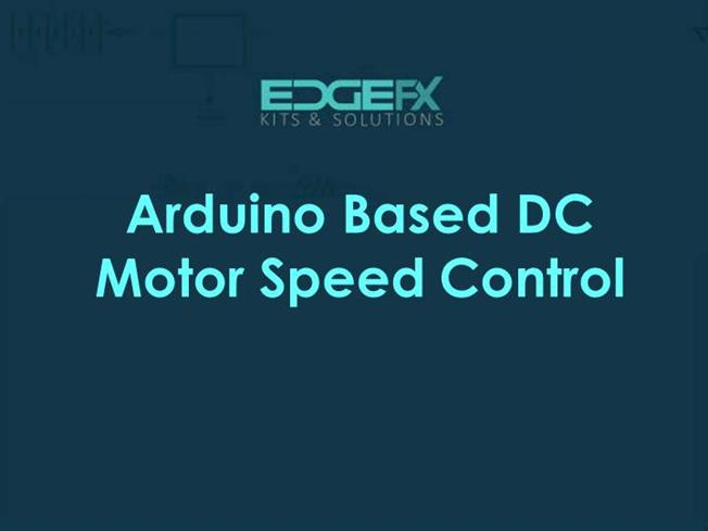BLDC Motor Speed Control With RPM Display And PWM |authorSTREAM