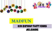Kids Birthday Party Venues in Melbourne
