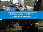 5 Advantages of a Driver Simulation Program