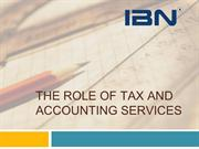 The Role of Tax and Accounting Services