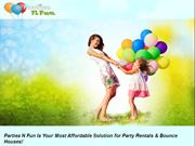 Make More Memorable Kid's Party With Bounce House