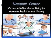 Consult With Doctor Today for HRT