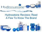 Hydroxatone Reviews: Read A Few To Know The Brand