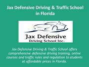 Learn Safe Driving from Florida Traffic School
