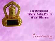 Tibetan Solar Prayer Wheel Dharma