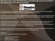 Visit Thermodyne at the 2016 NRA Show