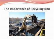 Effects of Recycling on Humans