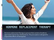 Hormone Replacement Therapy Services in Orange County