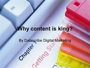 Why Content is King?