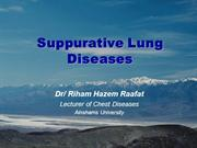 Suppurative Lung Diseases
