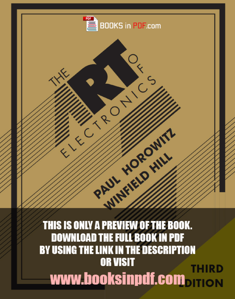 The Art Of Electronics 3rd Edition Pdf Free Download Authorstream