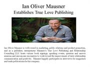 Ian Oliver Mausner  Establishes True Love Publishing