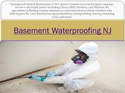 Basement Waterproofing NJ