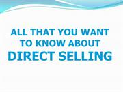 Direct Selling MLM