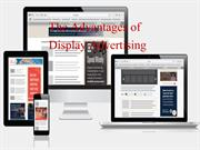 The Advantages of Display Advertising