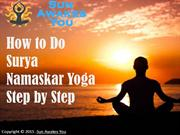 How to Do Surya Namaskar Yoga Step by Step