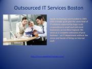 Outsourced IT Services Boston
