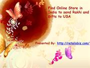 Find Online Store in India to send Rakhi and Gifts to USA