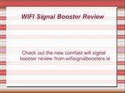 WIFI Signal Booster Presentation Review