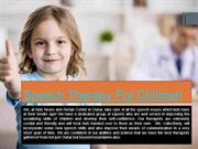 Speech Therapy For Children