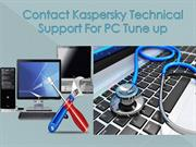 Tune up PC with Online Kaspersky Technical Support