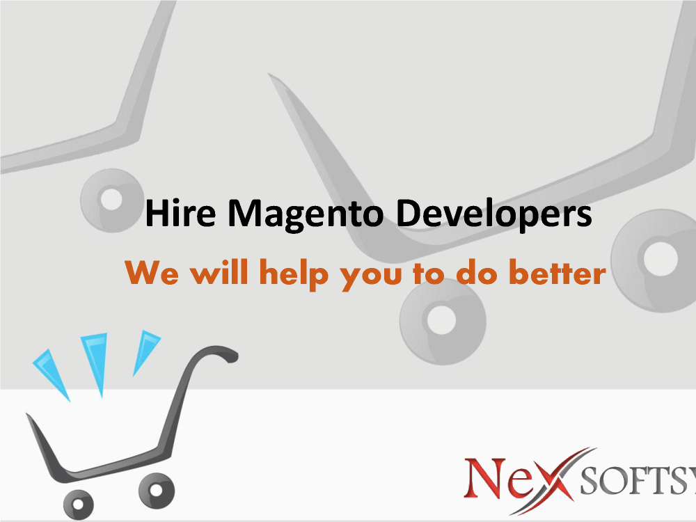 Hire Magento Ecommerce Developers from India |authorSTREAM