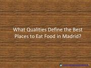best place to eat indian food madrid