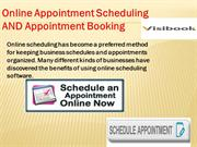 Online Appointment Schedulin and Appointment Booking