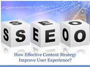 How Effective Content Strategy Improve User Experience?