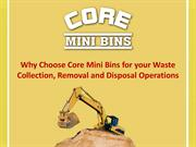Waste Collection, Removal and Disposal Services