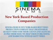 NEW YORK BASED PRODUCTION COMPANIES