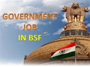 Government Jobs Open in BSF